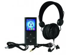EnVivo 1506 MP4 player with headphones